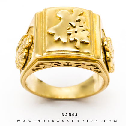 Nhẫn nam đẹp NAN04