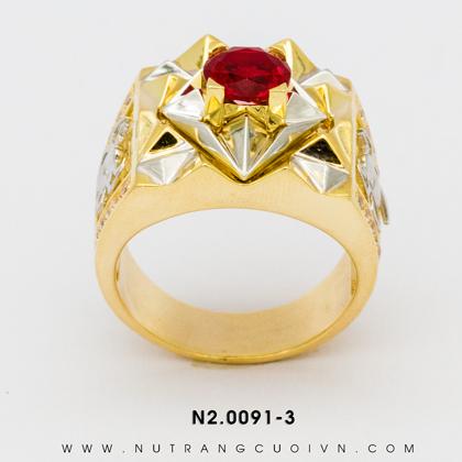 Nhẫn Nam N2.0091-3