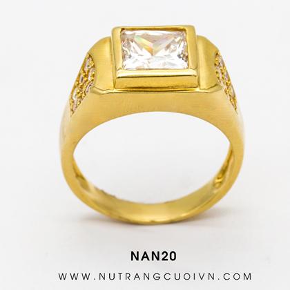 Nhẫn vàng nam NAN20