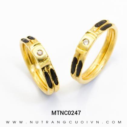 Nhẫn Cưới Vàng MTNC0247