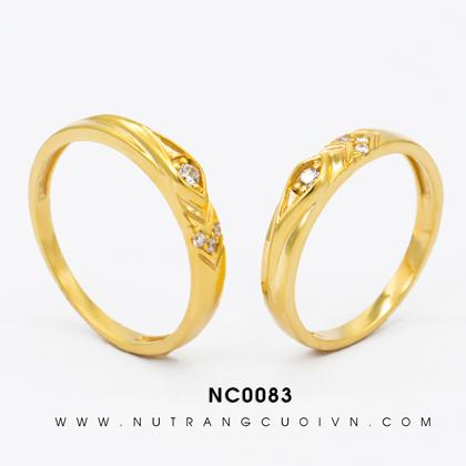 Nhẫn Cưới Vàng NC0083