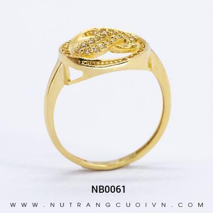Nhẫn Kiểu Nữ NB0061