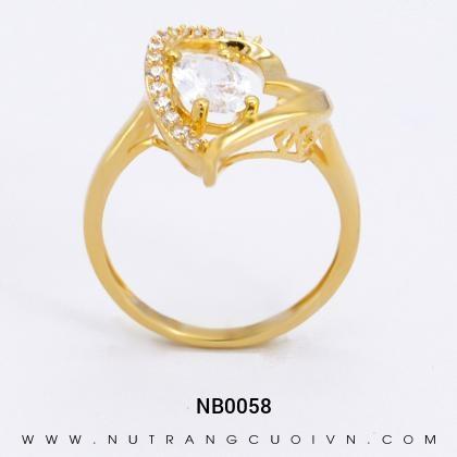 Nhẫn Kiểu Nữ NB0058