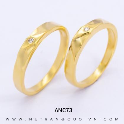 Nhẫn Cưới Vàng ANC73