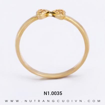 Nhẫn Kiểu Nữ N1.0035