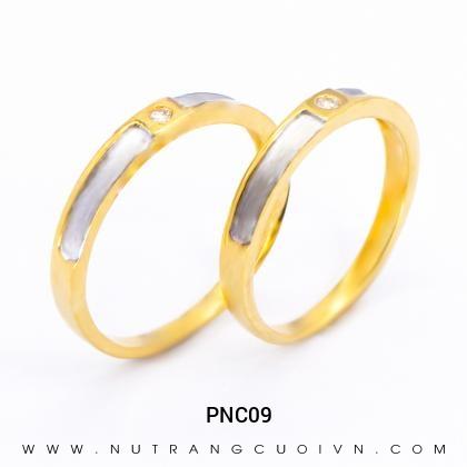 Nhẫn Cưới Vàng PNC09