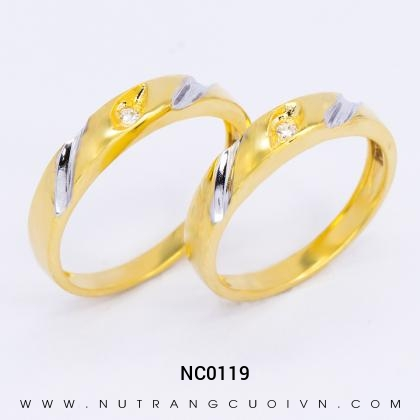 Nhẫn Cưới Vàng NC0119