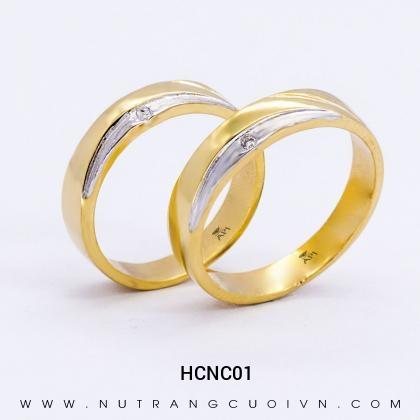 Nhẫn Cưới Vàng HCNC01
