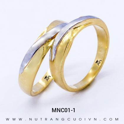 Nhẫn Cưới Vàng MNC01-1