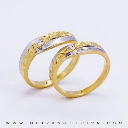 Nhẫn Cưới Vàng HNC05-1