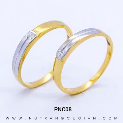 Nhẫn Cưới Vàng PNC08