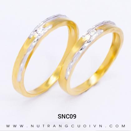 Nhẫn Cưới Vàng SNC09