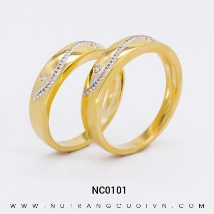Nhẫn Cưới Vàng NC0101