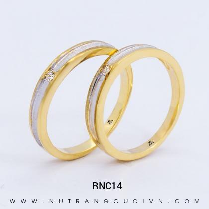 Nhẫn Cưới Vàng RNC14