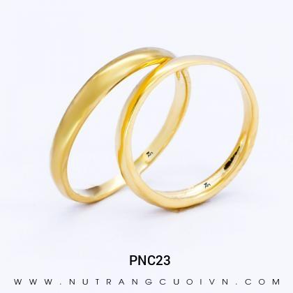 Nhẫn Cưới Vàng PNC23