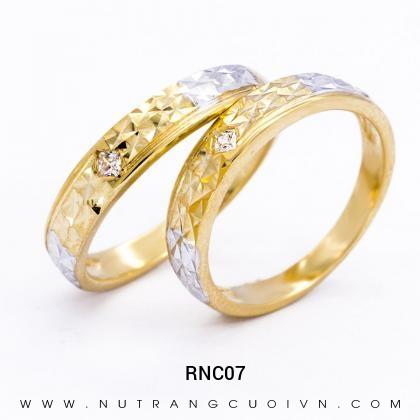 Nhẫn Cưới Vàng RNC07