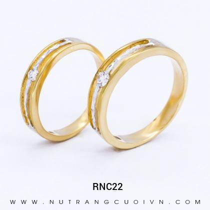 Nhẫn Cưới Vàng RNC22