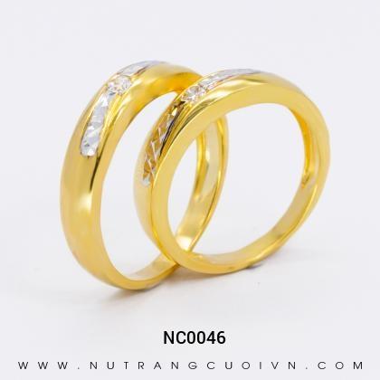 Nhẫn Cưới Vàng NC0046