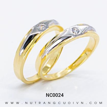 Nhẫn Cưới Vàng NC0024