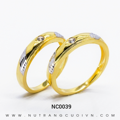 Nhẫn Cưới Vàng NC0039