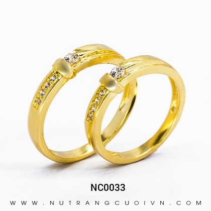 Nhẫn Cưới Vàng NC0033