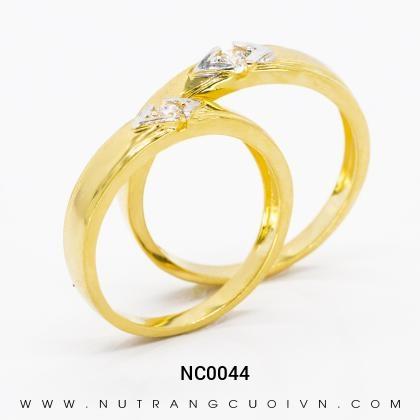 Nhẫn Cưới Vàng NC0044