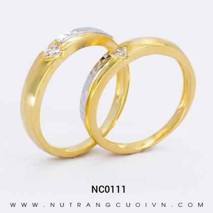 Nhẫn Cưới Vàng NC0111