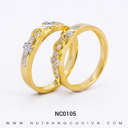 Nhẫn Cưới Vàng NC0105