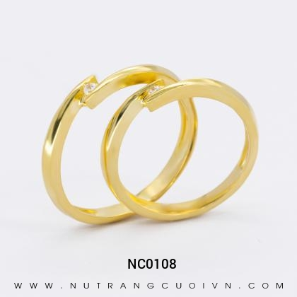 Nhẫn Cưới Vàng NC0108