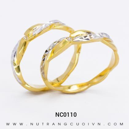 Nhẫn Cưới Vàng NC0110