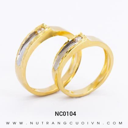 Nhẫn Cưới Vàng NC0104