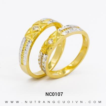 Nhẫn Cưới Vàng NC0107