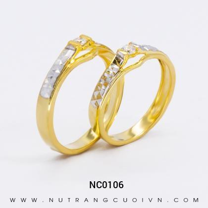 Nhẫn Cưới Vàng NC0106