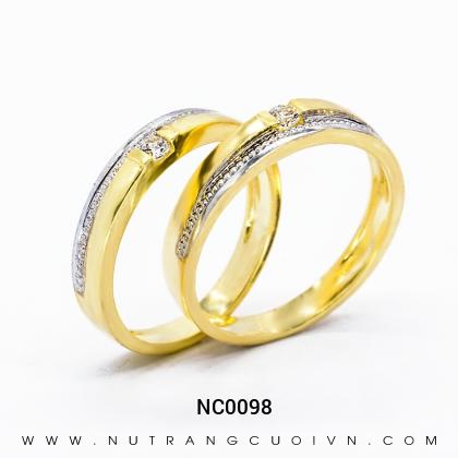 Nhẫn Cưới Vàng NC0098