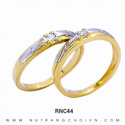 Nhẫn Cưới Vàng RNC44