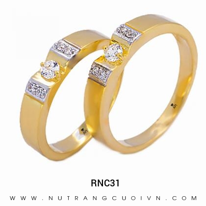 Nhẫn Cưới Vàng RNC31