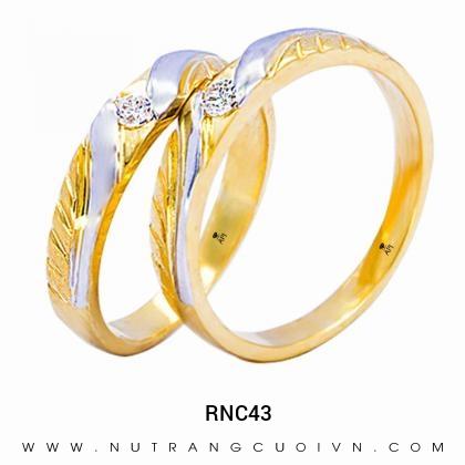 Nhẫn Cưới Vàng RNC43