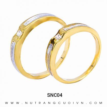 Nhẫn Cưới Vàng SNC04