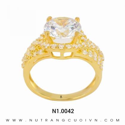 Nhẫn đính hôn đẹp N1.0042