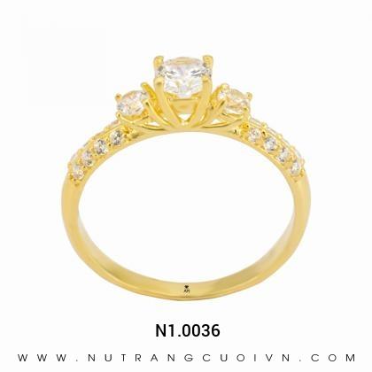 Nhẫn đính hôn N1.0036
