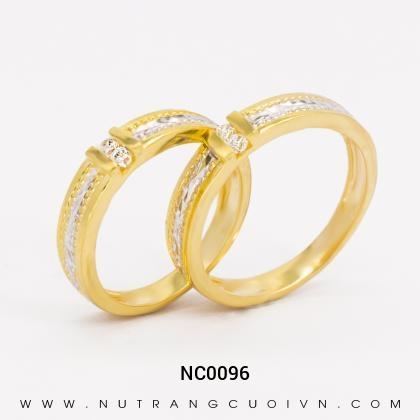 Nhẫn Cưới Vàng NC0096