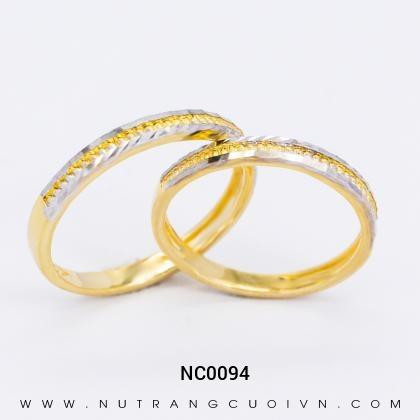 Nhẫn Cưới Vàng NC0094