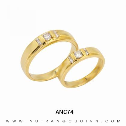 Nhẫn Cưới Vàng ANC74