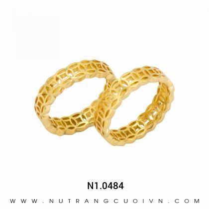 Nhẫn Cưới Vàng N1.0484