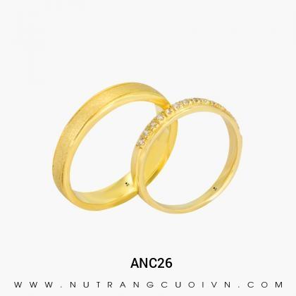 Nhẫn Cưới Vàng ANC26