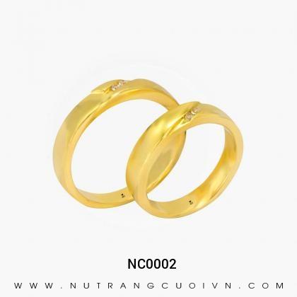 Nhẫn Cưới Vàng NC0002