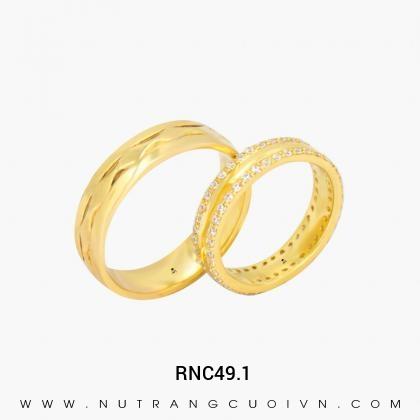 Nhẫn Cưới Vàng RNC49.1