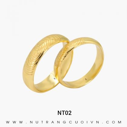 Nhẫn Cưới Vàng NT02