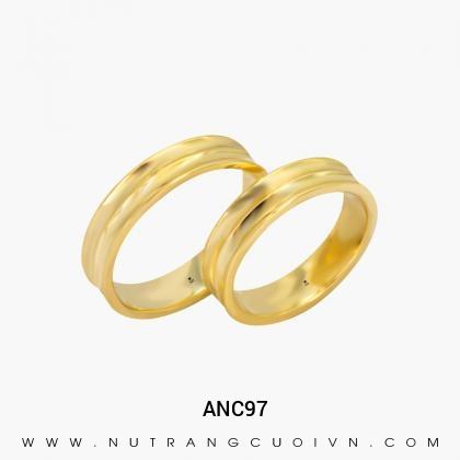 Nhẫn Cưới Vàng ANC97