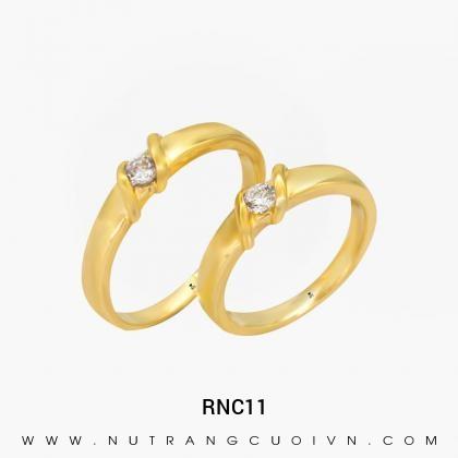 Nhẫn Cưới Vàng RNC11